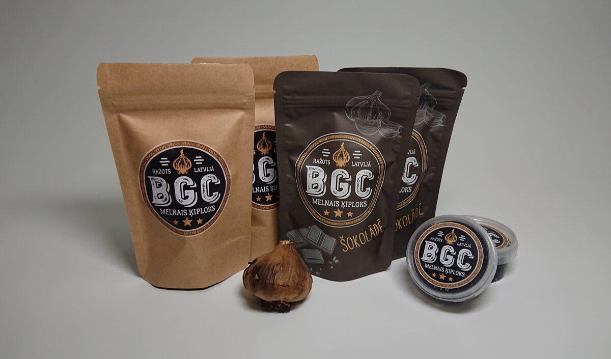 Black garlic packaging